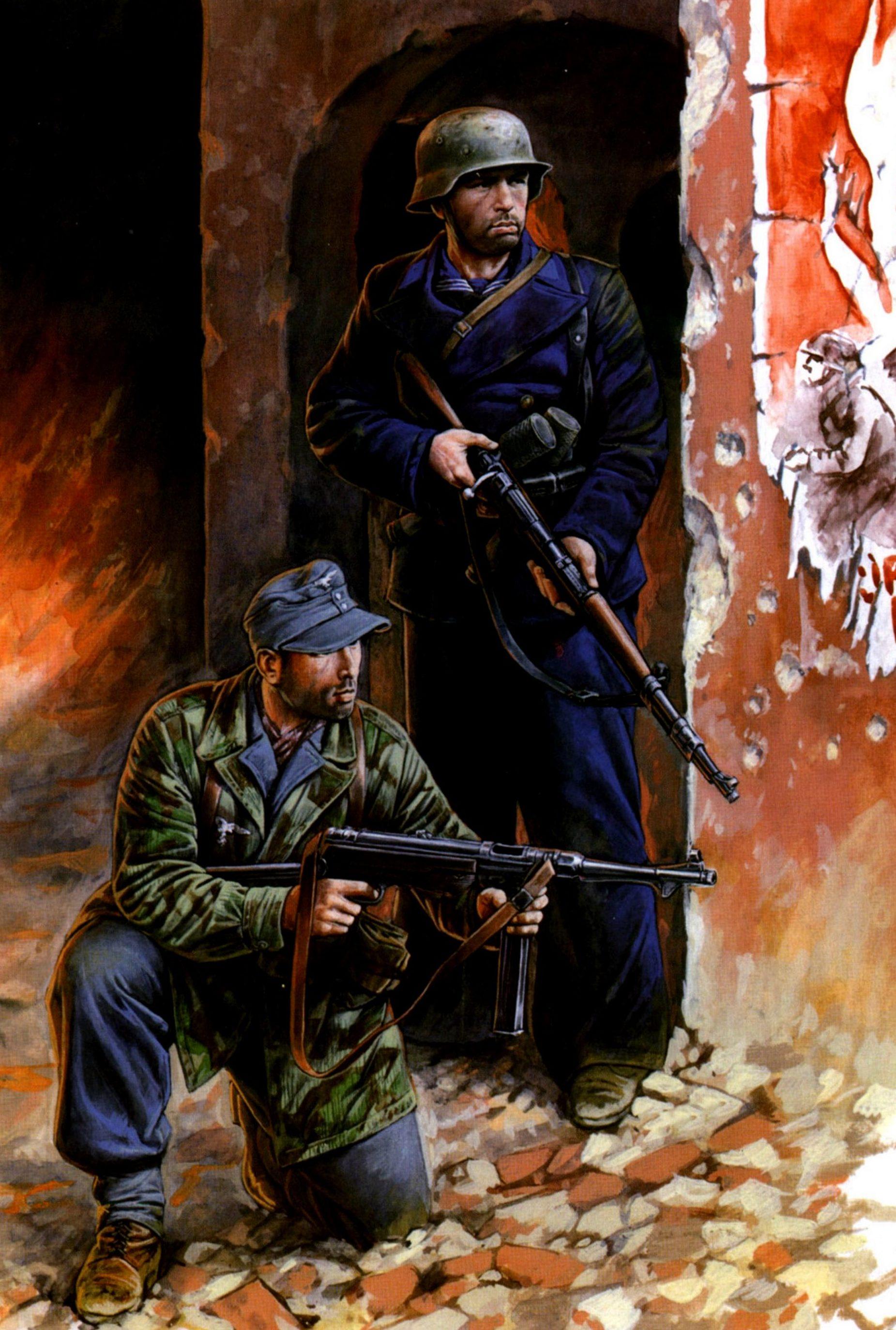 Каращук Андрей. Оборона Берлина.