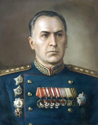 Шилов Виктор. Маршал Антонов.