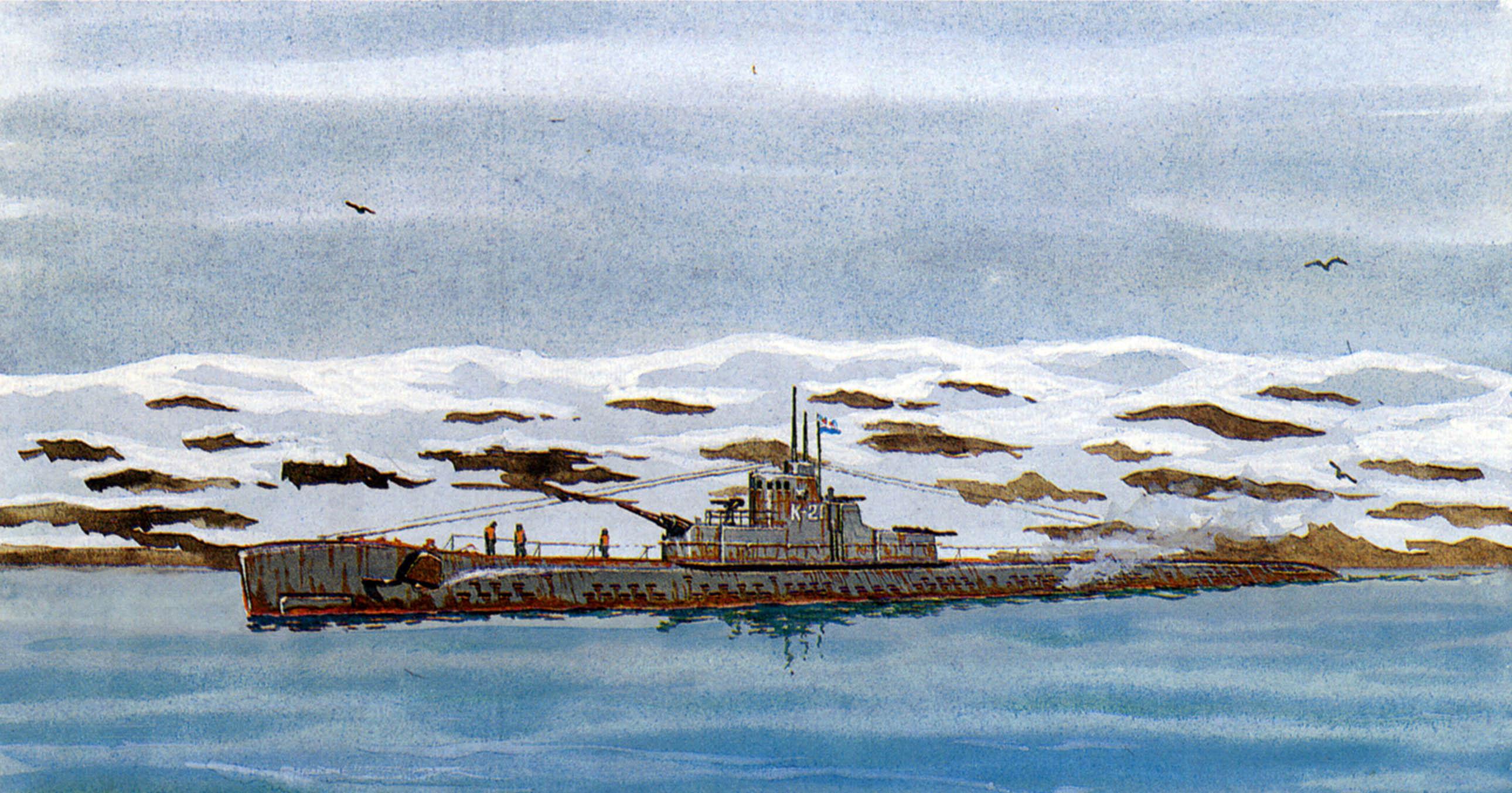 Ярулин Тимур. Подлодка типа «К» XIV серии.