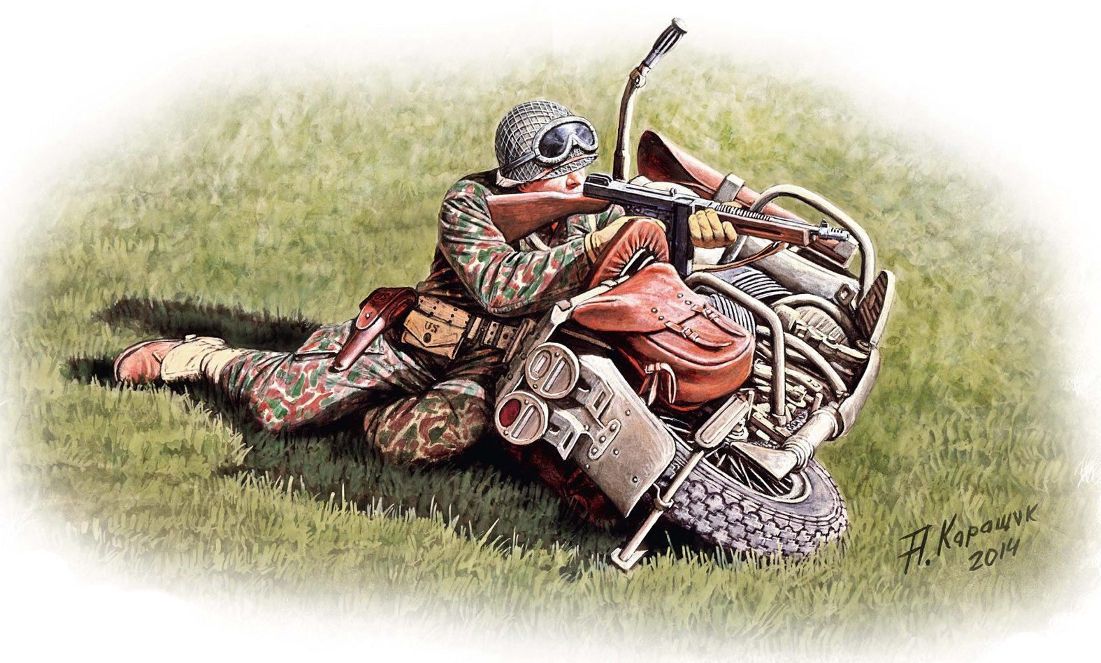 Каращук Андрей. Американские мотоциклисты.
