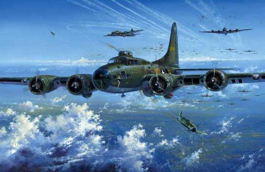 Atack Simon. Бомбардировщик В-17.