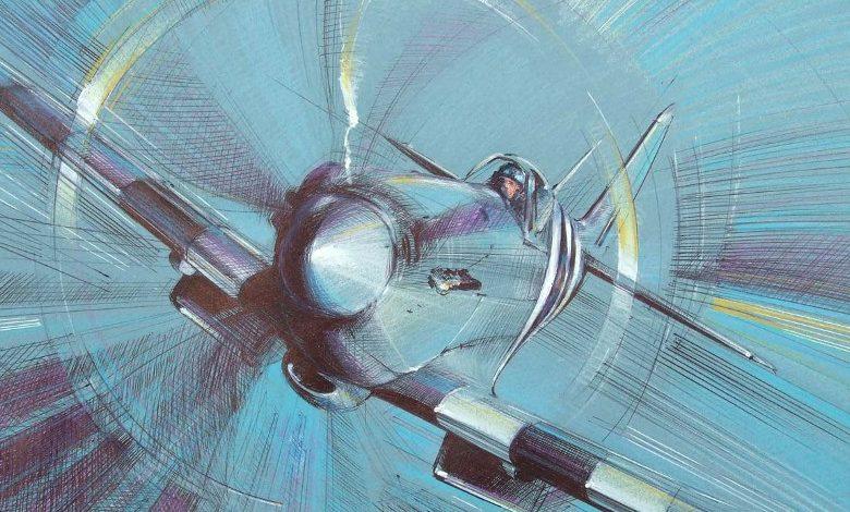 Calow David. Истребитель Supermarine Spitfire Mk.XIX.