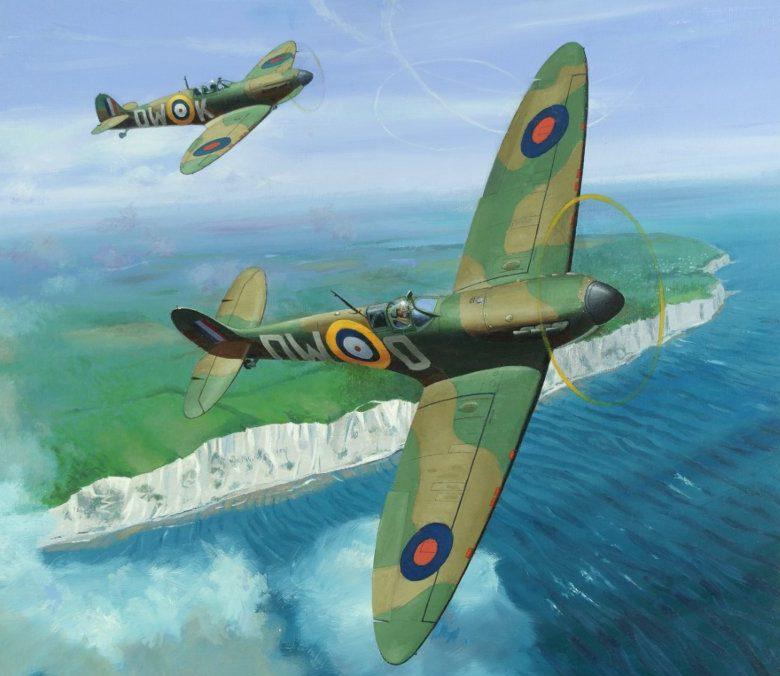 Henderson Graham. Истребители Supermarine Spitfire Mk.I.