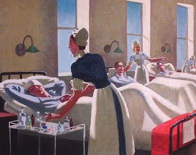 Zinkeisen Doris. Британский госпиталь.