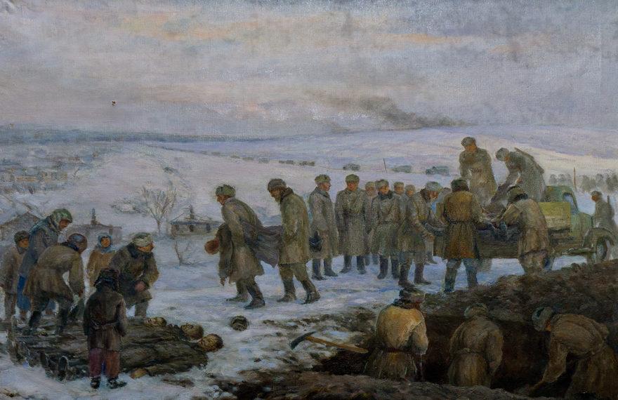Фойницкий Александр. Похороны.