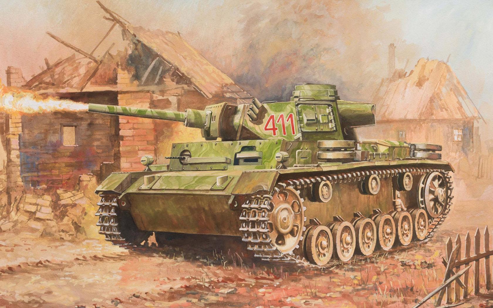 Дудчик Дмитрий. Огнеметный танк Flammpanzer III.