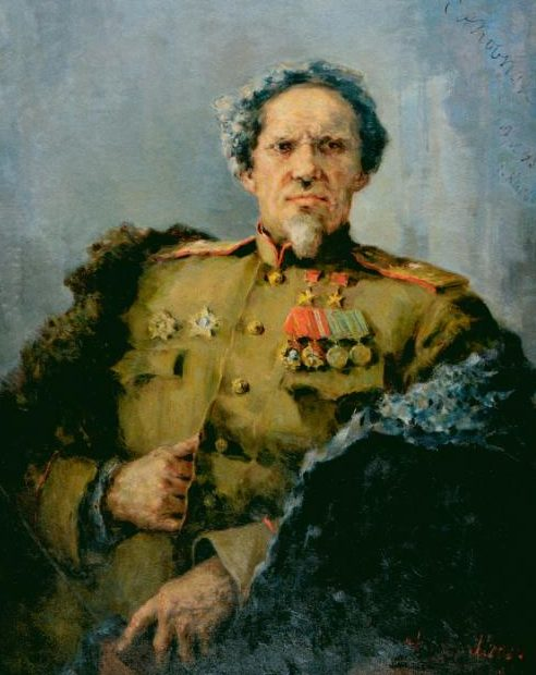 Модоров Федор. Дважды Герой Советского Союза С.А. Ковпак.