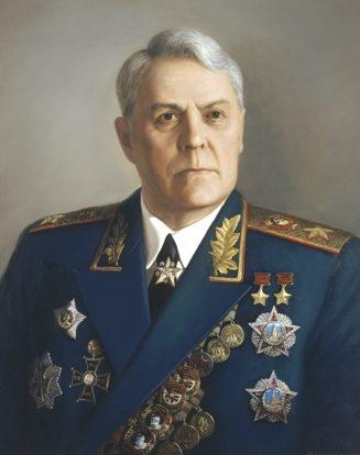 Шилов Виктор. Маршал Василевский.