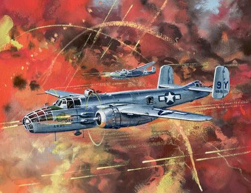 Cross Roy. Бомбардировщик В-25.