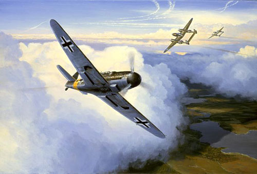 Postlethwaite Mark. Истребитель Ме-109.