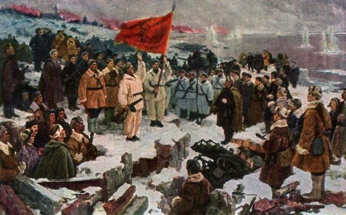 Лукомский Илья. Клятва на Волге.