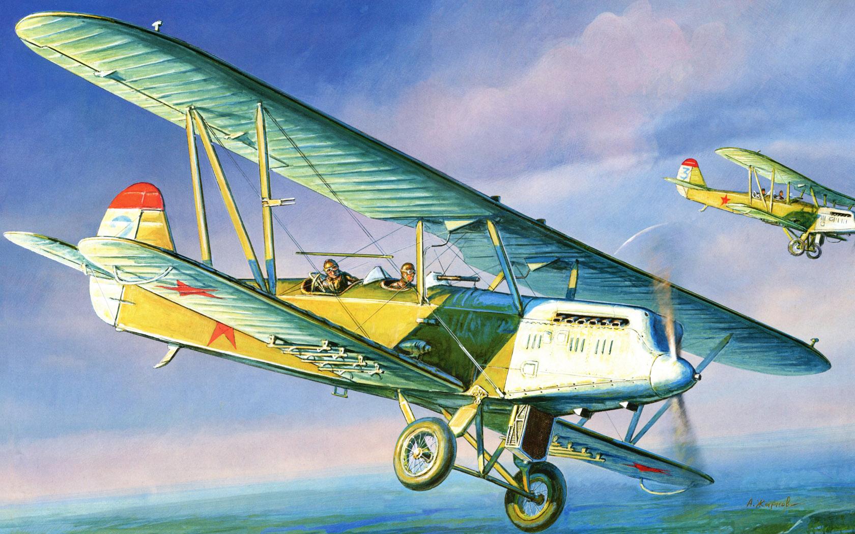 Жирнов Андрей. Р-5. Многоцелевой одномоторный самолёт.