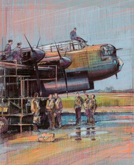 Calow David. Бомбардировщик Avro Lancaster.