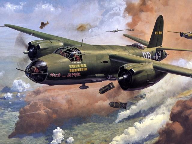 Cross Roy. Бомбардировщик В-26 «Marauder».