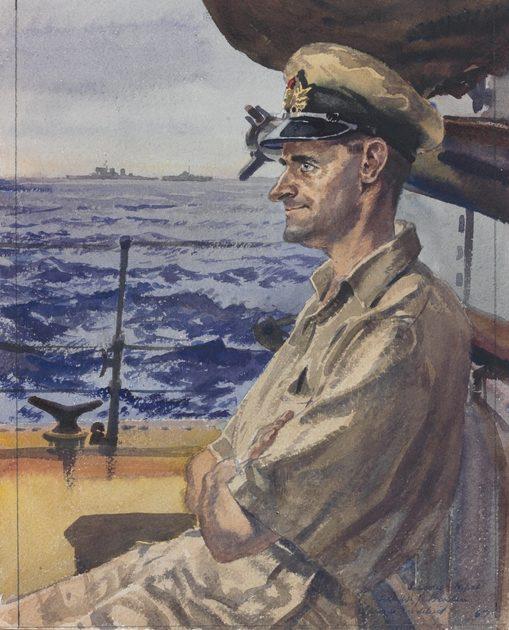 Goodchild John. Лейтенант William Braden.