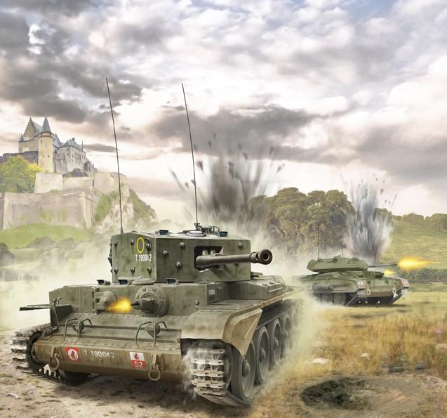 Петелин Валерий. Танк Cromwell Mk.IV.