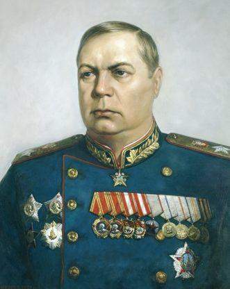 Шилов Виктор. Маршал Толбухин.