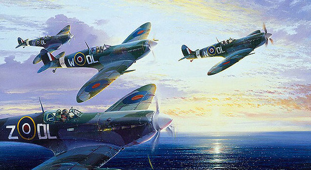 Atack Simon. Истребители Spitfire Mk.Vb.