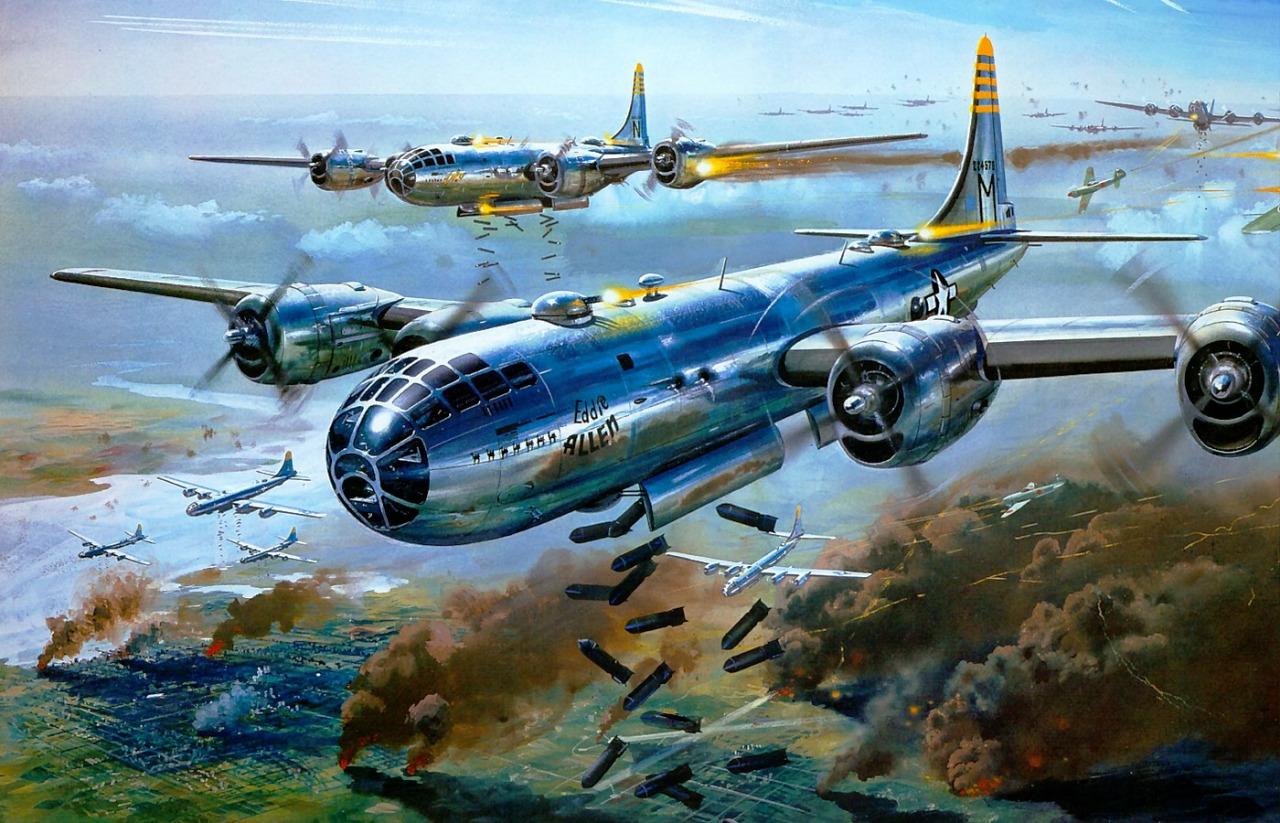 Cross Roy. Бомбардировщики В-29.