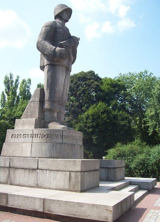 г. Варшава. Памятник воинам 1-й армии Войска Польского.
