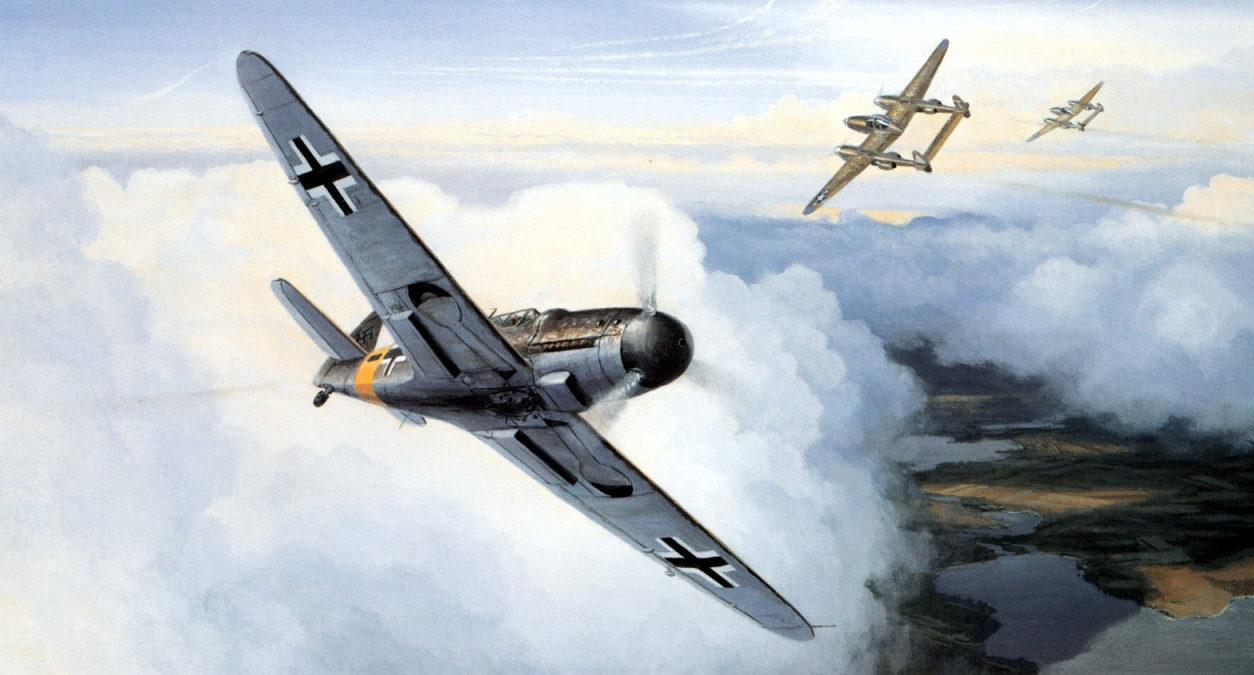 Postlethwaite Mark. Истребитель Bf-109F.