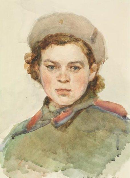 Лукомский Илья. Юная медсестра.