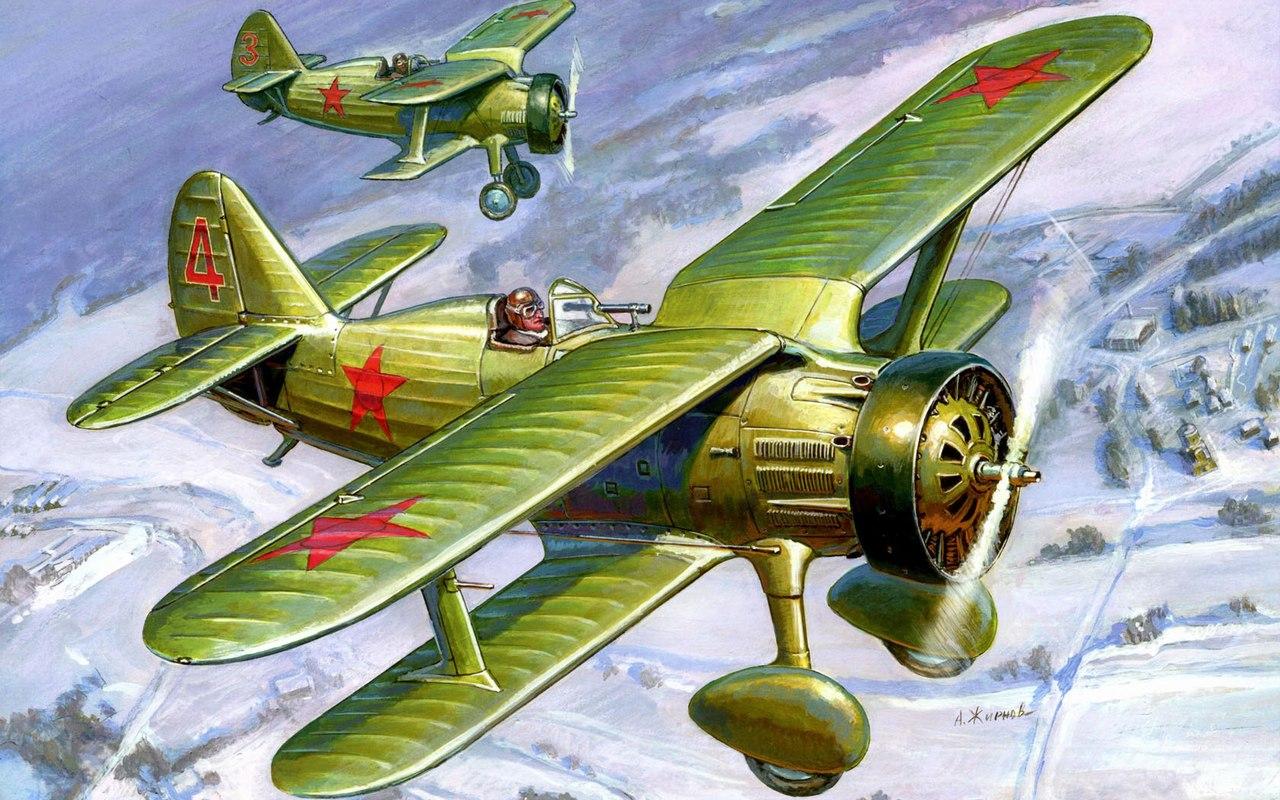 Жирнов Андрей. Истребитель-биплан И-15.