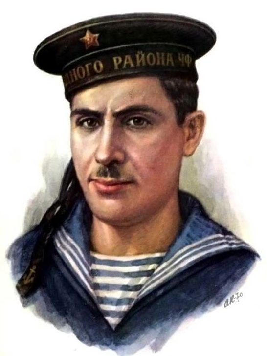 Кручина Александр. Герой Советского Союза К. Мамедов.