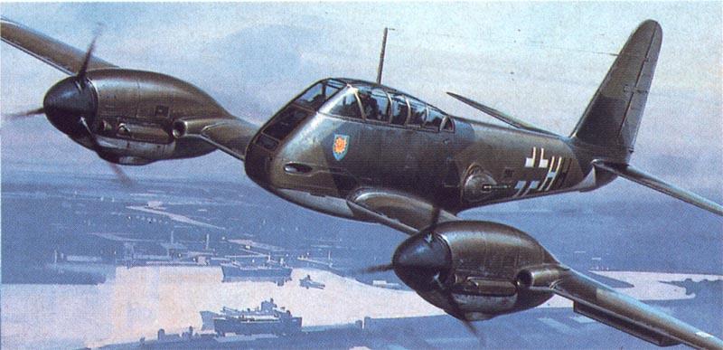 Huxley Roy. Истребитель Ме-410.