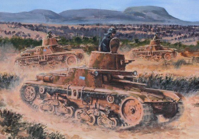 Pentland David. Танковая атака.