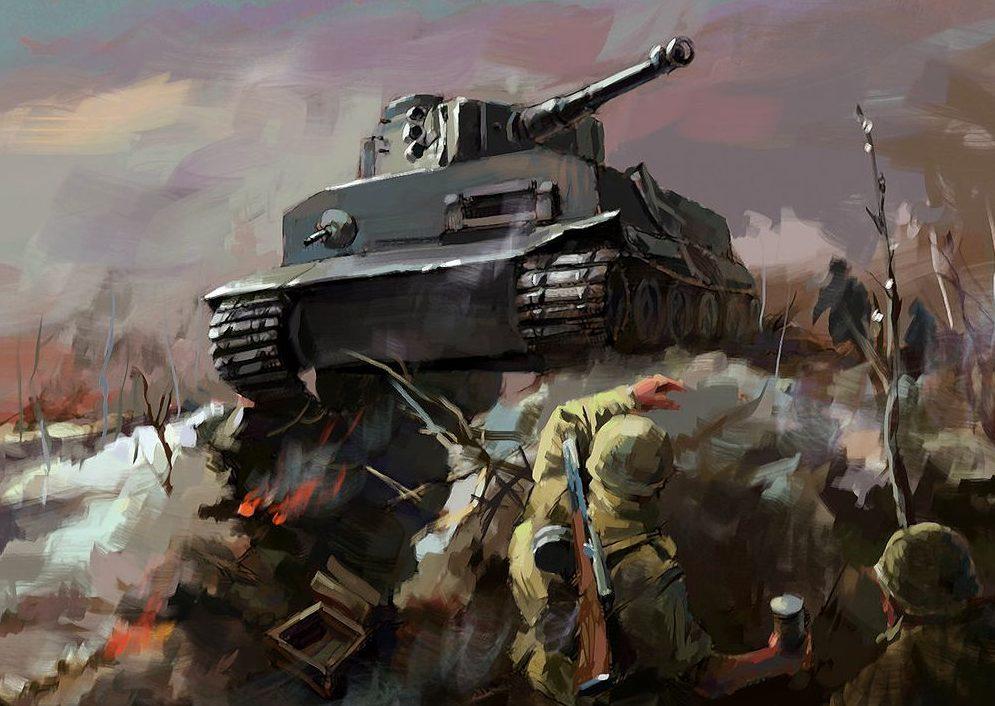Zhou Lothar. Танк Tiger I.