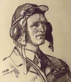 Orde Cuthbert. Пилот Geoffrey Allard.
