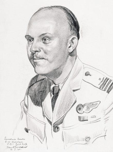 Goodchild John. Командир эскадры Bryan Nicholson.