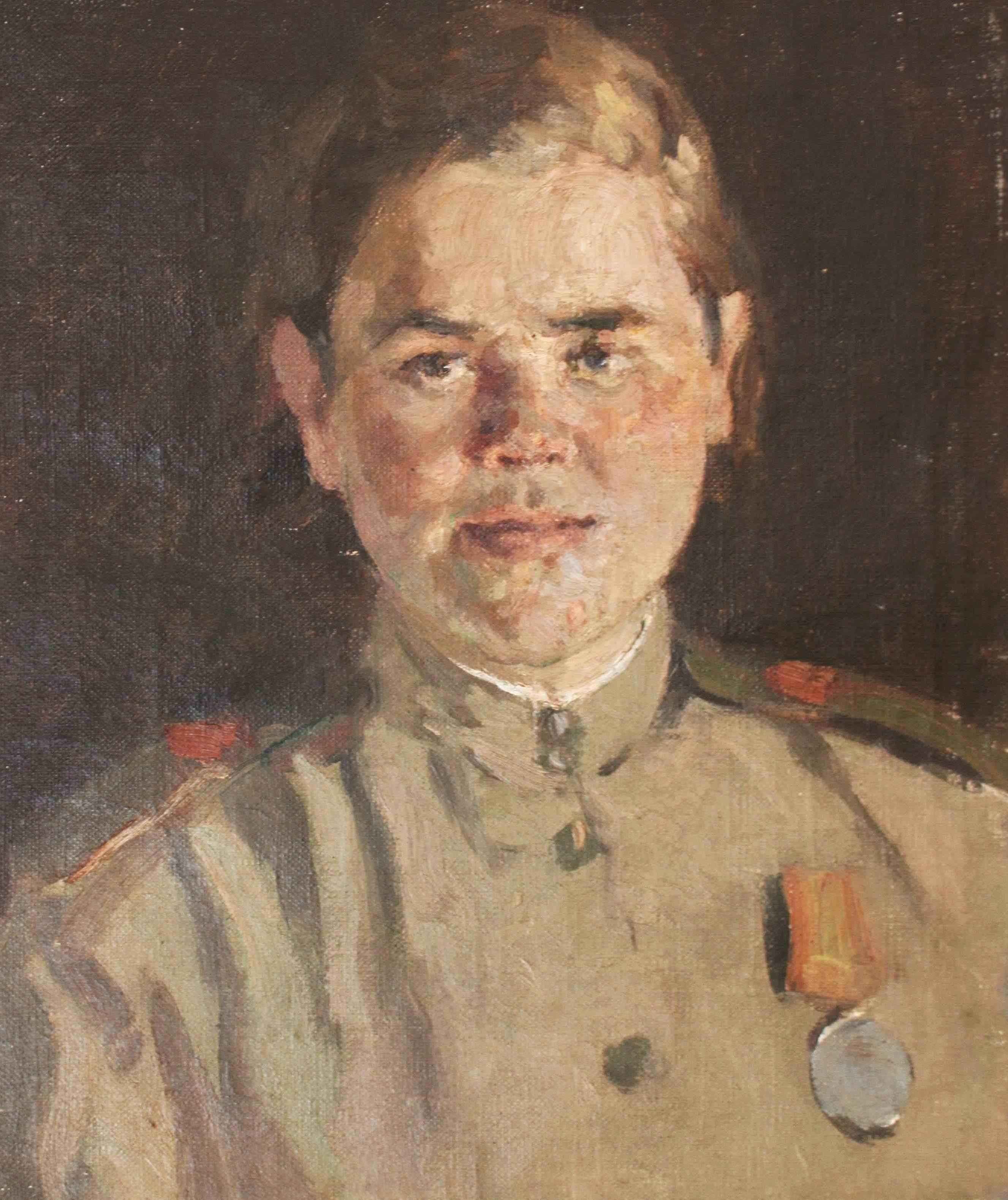 Лукомский Илья. Портрет сержанта.