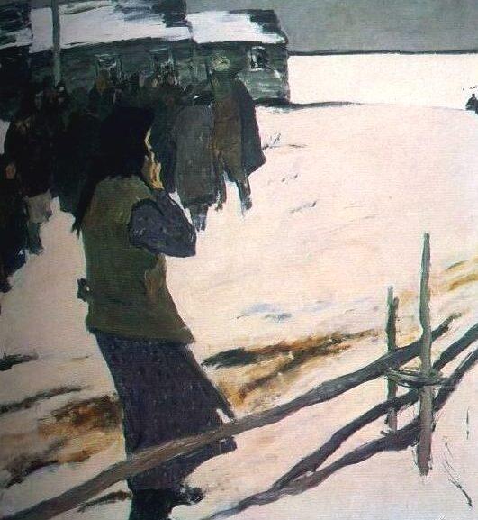 Угаров Борис. Мать. Год 1941.
