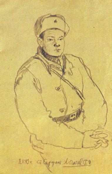 Зимин Валентин. Ст. сержант Логачев.