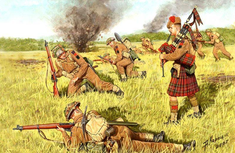 Каращук Андрей. Шотландские храбрецы.