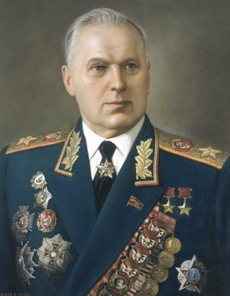 Шилов Виктор. Маршал Москаленко.