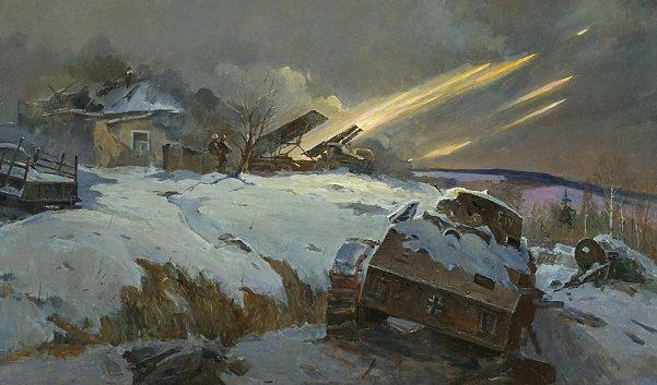Юсупенко Ф. Ответ гвардейцев.