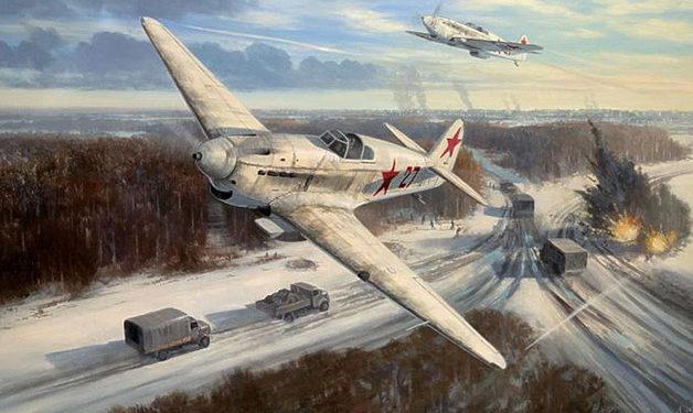 Postlethwaite Mark. Истребители Як-1.