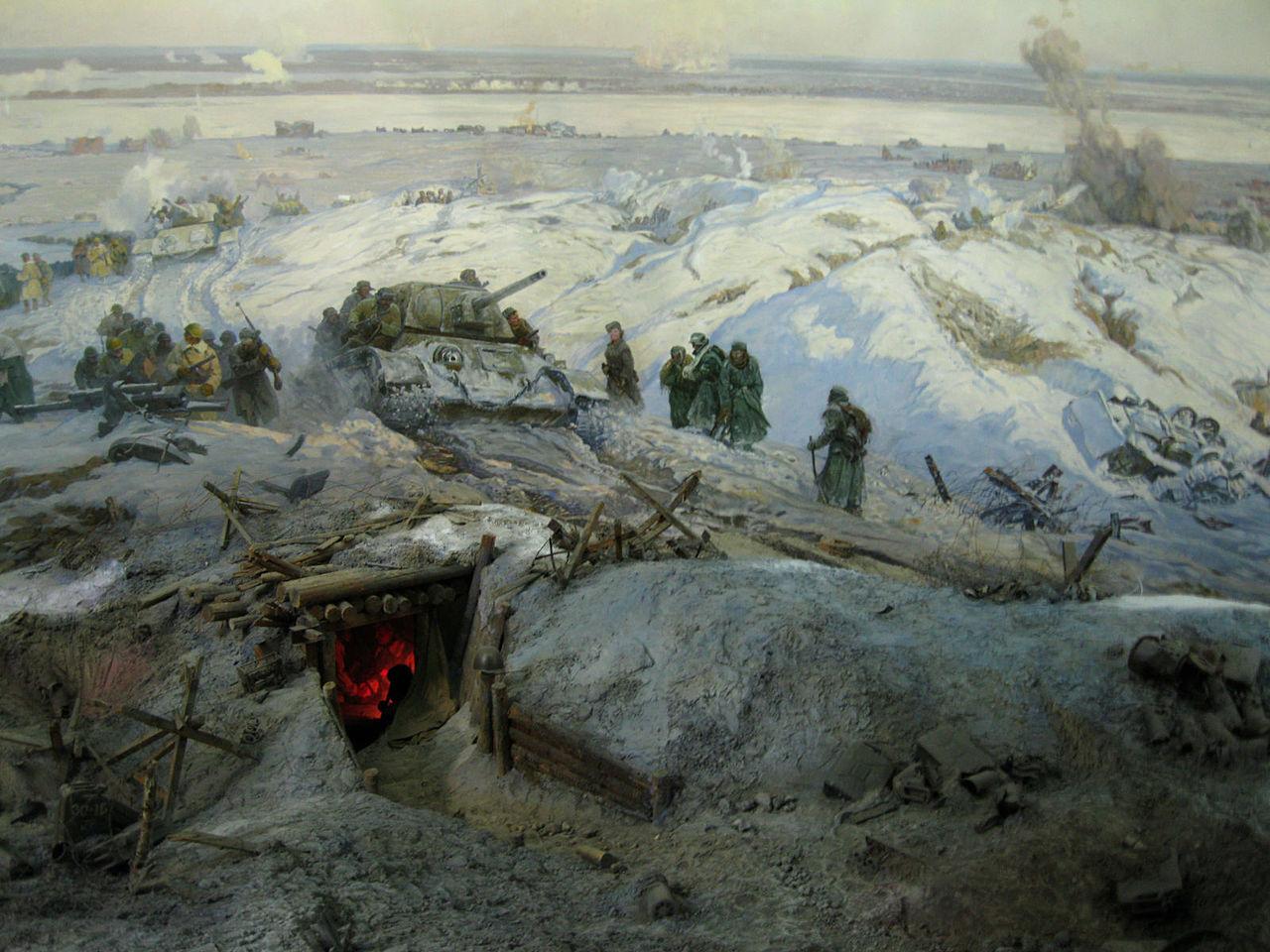 Горпенко А. Панорама «Разгром немецко-фашистских войск под Сталинградом».