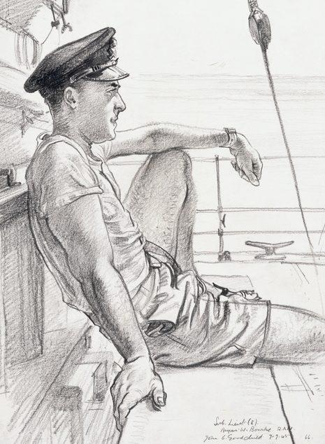 Goodchild John. Лейтенант Brian Bourke.