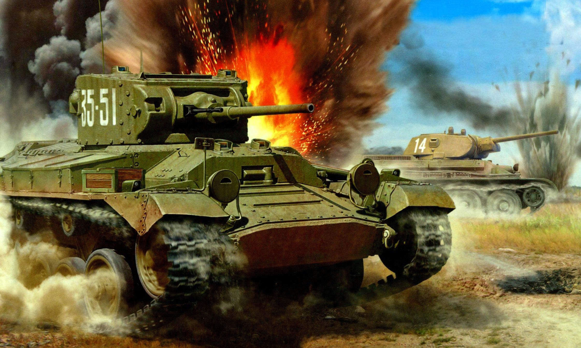 Петелин Валерий. Танк Mk.III Valentine IV.