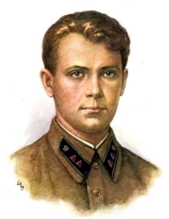 Кручина Александр. Герой Советского Союза В. Мирошниченко.