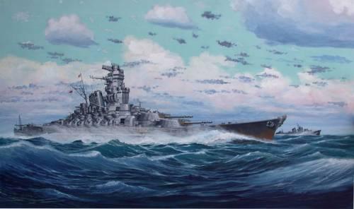 Ярулин Тимур. Линкор «Yamato».