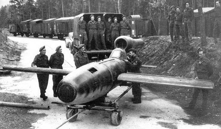 Немецкий ударный самолет-снаряд Reichenberg IV.