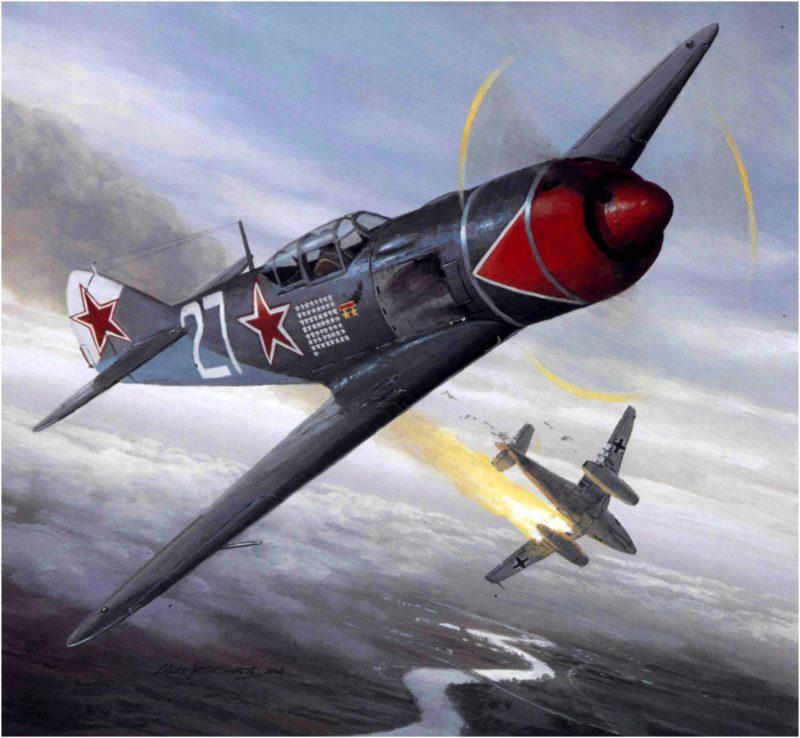 Postlethwaite Mark. Истребитель Ла-5.