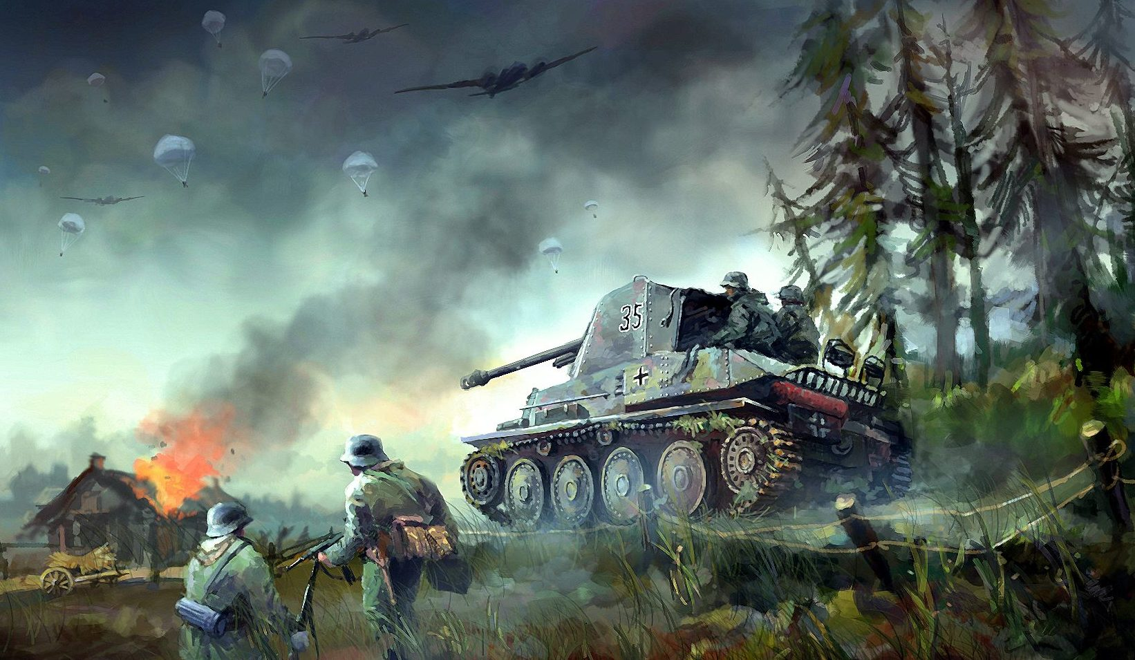 Zhou Lothar. САУ Marder III Ausf.