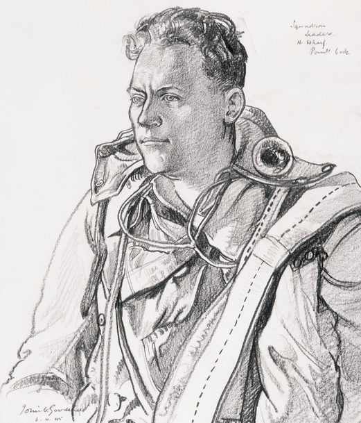 Goodchild John. Командир эскадрильи Harry Wharf.