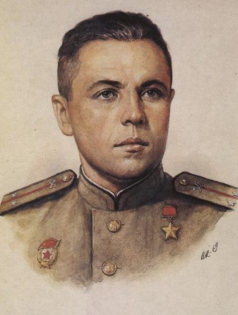 Кручина Александр. Герой Советского Союза А. Родителев.